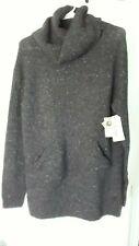 New Burton wool sweater unisex grey