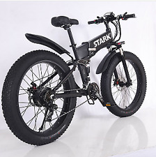 Stark Drive City Fat Tire Folding Electric Bike 36V 500W EU 45kph Hidden 17AH