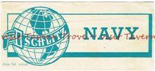Unusual 1949 WISCONSIN Milwaukee Schlitz NAVY case? Label Tavern Trove