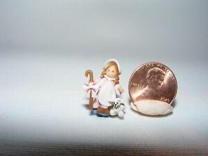 Artisan Dollhouse Miniature doll Micro Mary Had a Little Lamb