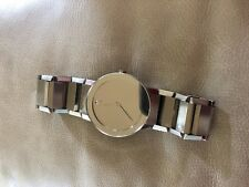 MOVADO Mens Wristwatch 84 G1 4896 Mirror Dial Sapphire Crystal Swiss 38mm