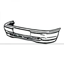 Paraurti anteriore VECTRA A 92-95 modello GL senza profilo