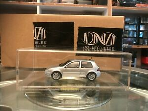 DNA Collectibles 2002 VW Golf Gti 25th Anniversary Mk4 Silver 1/43 MIB Ltd Ed