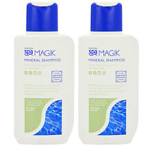 2x 320ml Dead Sea Spa Magik Mineral Shampoo Soothes Irritated Dry Flaky Scalps