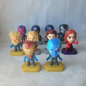 McDonalds Happy Meal Marvel Avengers Toys Lot of 10 End Game Collectable Bundle