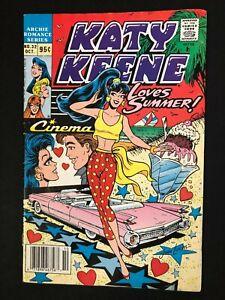 KATY KEENE SPECIAL #32 FINE OCT/1989 NEWSSTAND LOW DISTRIBUTION