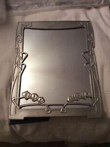 Selangot Mirror Frame Pewter Large 24 X 29 Cm