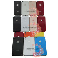 """For iPhone 8 8+ Plus XR 6.1"""" Housing Back Glass Chassis Frame Battery Door Cover"""