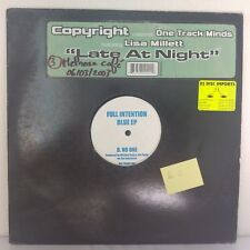 """One Track Minds Ft. Lisa Millett – Late At Night (12"""", Maxi 33 T, Promo, Test)"""