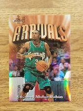 1996-97 Shareef Abdur-Rahim Topps Finest Refractor RC Card #225 Grizzlies