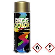 1 Stück 400ml Lackspray Sprühlack Lack Farbe Gold Goldspray  10200