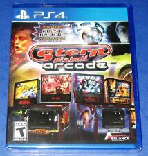 Stern Pinball Arcade Sony PlayStation 4 *New! *Sealed! *Free Shipping!