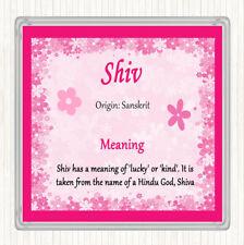 Posavasos Bebidas Shiv nombre significado Estera Rosa