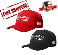MAGA Hats, Make America Great Again Donald Trump Caps Black or Red
