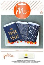 Heidi Swapp Pebbles Boo! 12 Piece Minc Foil-Ready Treat Bags