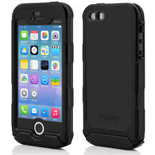 Incipio ATLAS ID Rugged Dustproof Waterproof Case Cover iPhone 5 5S Black (OPEN)