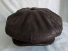 Cappelli vintage da uomo in pelle
