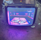 Wells+Gardner+K4900+13+Inch+Monitor+Ms.+Pac+Man+And+Galaga+For+Parts+And+Repair