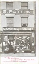More details for lincoln. s.patton, confectioner's shop, 198 high street. pastry cook &c.