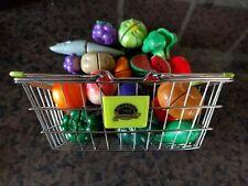 Basket Of Groceries Kids Play Food
