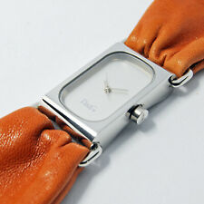 Women's Watch Dolce E Gabbana Steel Leather Brown D&g Time Genuine Quartz New