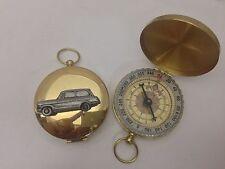 TRIUMPH Herald 948 STIM ref251 PELTRO effetto auto emblema su una bussola d'oro