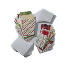 """Anna Griffin Pretty Patterns Holiday 100 Cards Envelopes 5""""X7""""  4""""X5.5"""" NEW"""