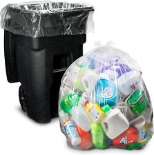NEW 95-96 GALLON WHEELED trash bags Lid Garbage Container Outdoor Waste Bin Bask