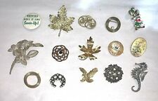 Vintage Costume Jewelry Pin Lot Estate Find #10