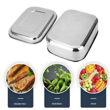 Box Food Container Stainless Steel Lunch Box With Subdivision Container Airtight