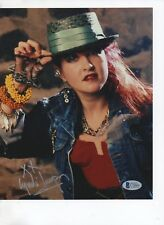 Cindi Lauper Signed Color 8X10 Beckett Authenticated Bas C78064