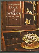 New York Times BOOK of ANTIQUES furniture metal glass textiles ceramics pictures
