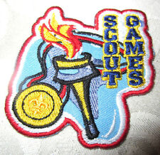 Bsa Boy Scout Uniform Scout Games Award Olympic Torch Medal