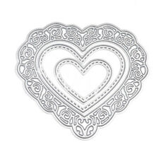 Heart Cutting Dies Stencil DIY Scrapbooking Photo Album Embossing Paper Card New
