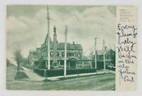 Postcard Soldiers Monument Asbury Park New Jersey 1905