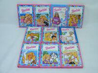 Lot de 10 livres BARBIE Mini Club éditions HEMMA vintage années 90's à 2000's