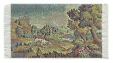 Miniatur Gobelin Wandteppich reine Polyester für Krippe Puppenhaus. 6x11cm