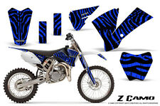 KTM SX85 SX105 2004-2005 GRAPHICS KIT CREATORX DECALS ZCAMO BL
