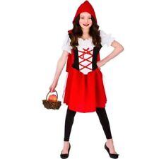 Déguisements costumes rouge 7 ans pour fille
