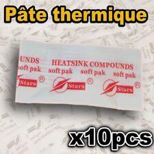 1522/10# Pâte thermique en sachet 10pcs