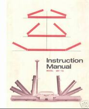 Knitmaster Knitting Machine Instructions MK70