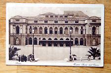 Antique 1920-1930 Italy Roma Rome Street Photo Postcard Post Card Vintage