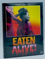 Eaten Alive! (Blu-ray Disc, 2018, 2-Disc Set) NEW w/ Slipcover