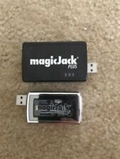 Magic jack PLUS VoIP with Power Supply Adapter, Cables, Instructions and regular