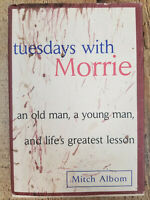 Tuesdays with Morrie by Mitch Albom (1997, Hardcover)