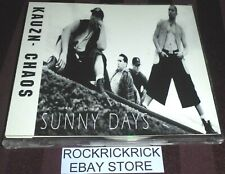 KAUZN CHAOS - SUNNY DAYS -3 TRACK RARE CD- (TRSCS0001)
