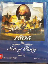 1805: Sea of Glory - GMT Games War Board Game New!