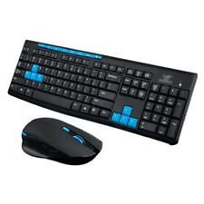 1X(2.4Ghz Wireless Gaming Gamer Keyboard And Mouse Kit For Desktop Pc Lapto X4J4