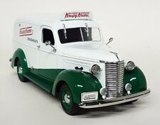 Greenlight 1/24 Scale Krispy Kreme 1939 Chevrolet Panel Van Diecast Model Car