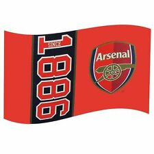 Official Licensed Football Arsenal Since 1886 Flag Large Body Gift Fan Fun New